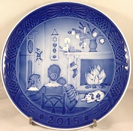 royal copenhagen 1901115 christmas plate 2015 - Royal Copenhagen Christmas Plates
