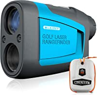 MiLESEEY Professional Precision Laser Golf Rangefinder 660 Yards with Slope Compensation,±0.55yard Accuracy,Fast Flagpole Lock,6X Magnification,Distance/Angle/Speed Measurement for Golf,Hunting
