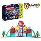 MAGFORMERS Mastermind (115 Piece) Building Set, Rainbow