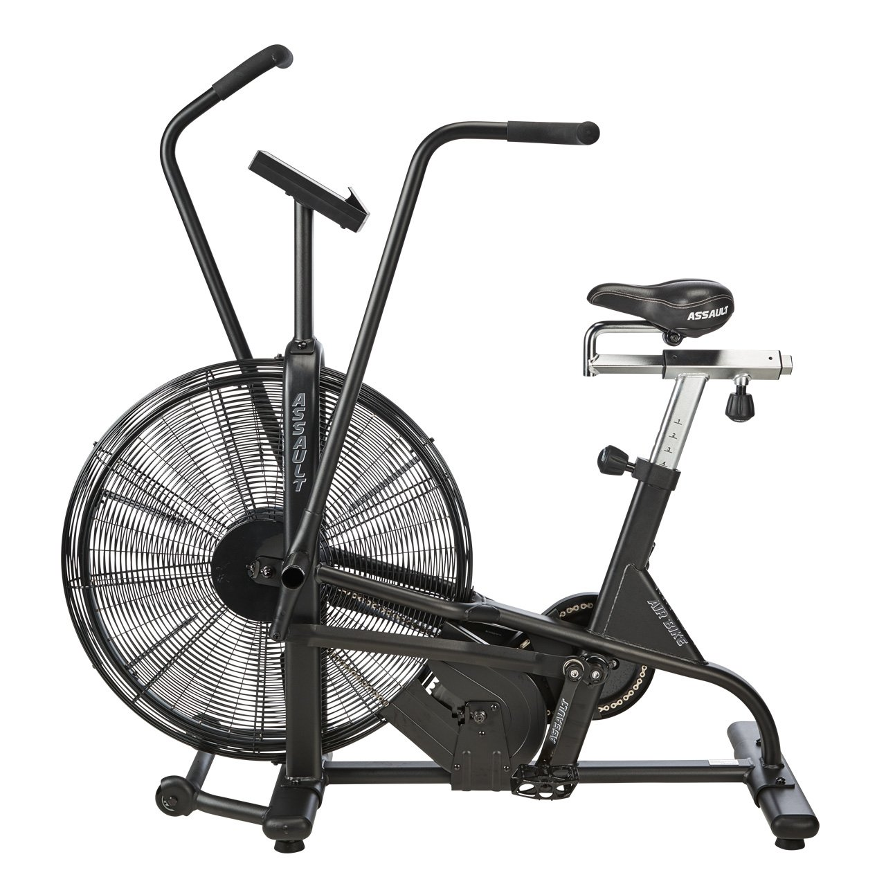 amazoncom assault airbike classic black exercise bikes sports outdoors