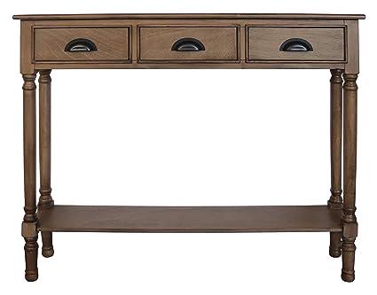 size 40 fa59c 9e656 Amazon.com: Urbanest Burlington Console Table with 3 Drawers ...