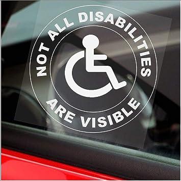 mini bus finestra sticker-sign veicolo passeggero taxi allarme Platinum Place 1/x non disabilit/à tutti sono visible-circle-van camion Blue comunicazione auto badge Holder Cab driver