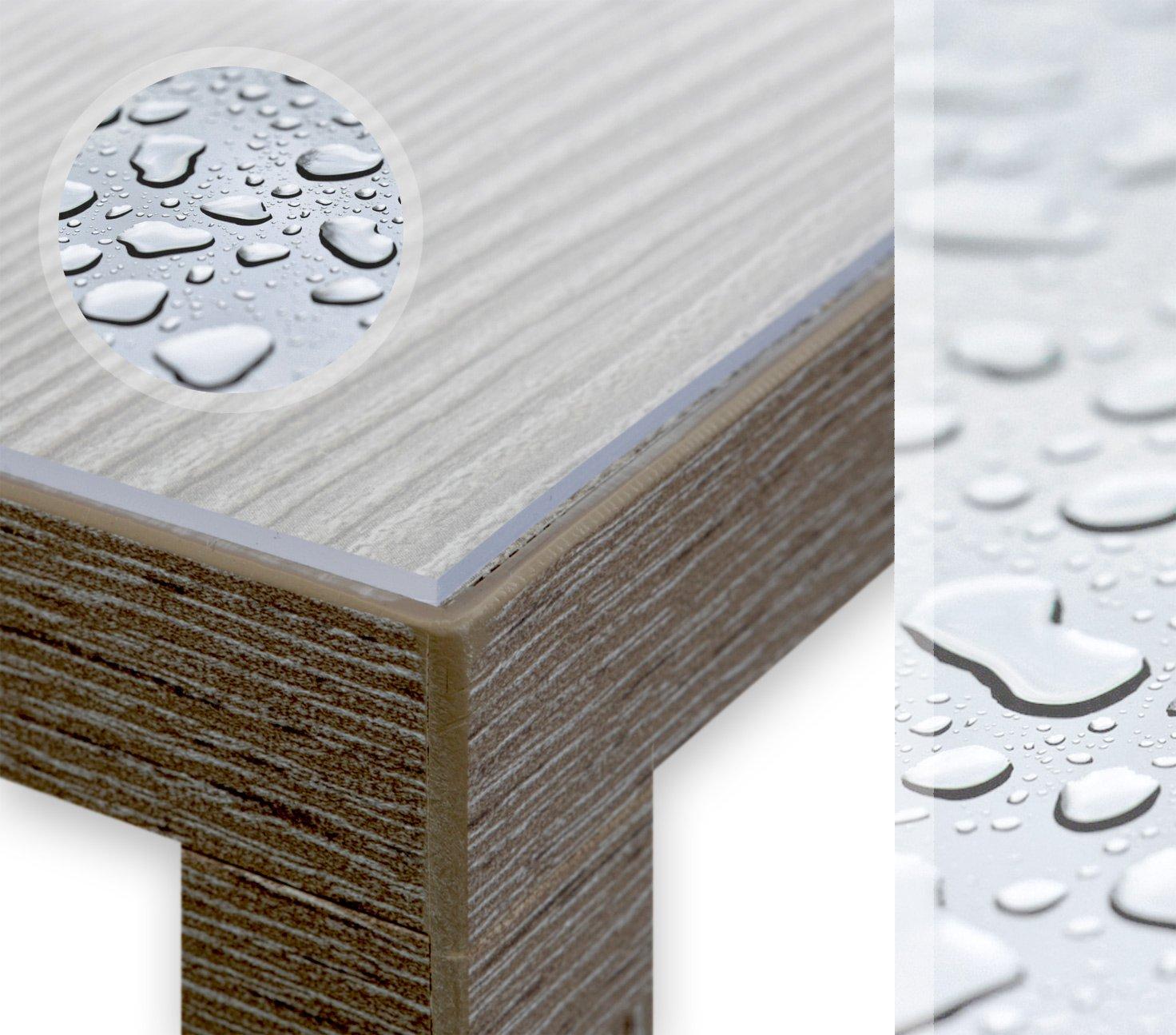 Glasklar Folie 2 mm mm mm transparente Tischdecke Breite 100 cm, Länge wählbar, Schutzfolie Tischschutz Meterware (100 x 190 cm) B01BSSVWNQ Tischdecken 0d97a0