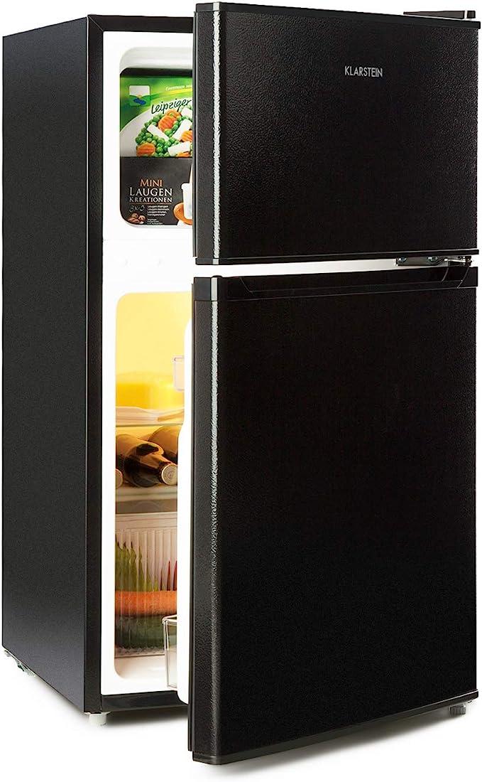 Klarstein Big Daddy Cool Black Edition - Nevera con congelador ...