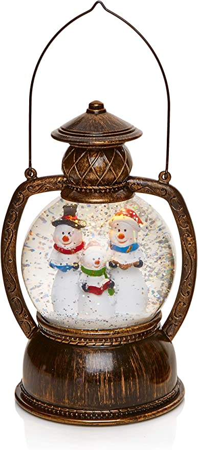 Cute Snowman Candle 20cm tall great detailing