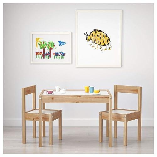 mesa de luz Montessori RGBW Bluetooth y mando 64x48cm: Amazon.es ...