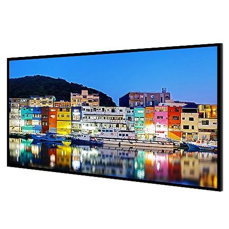 Amazon.com: Nierbo - Pantalla de proyector de marco de fotos ...