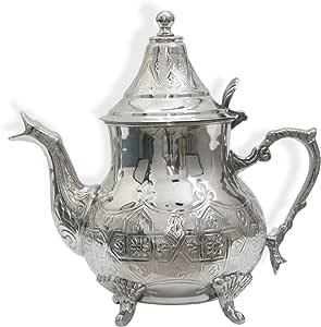 نحاس,فضي - أباريق الشاي