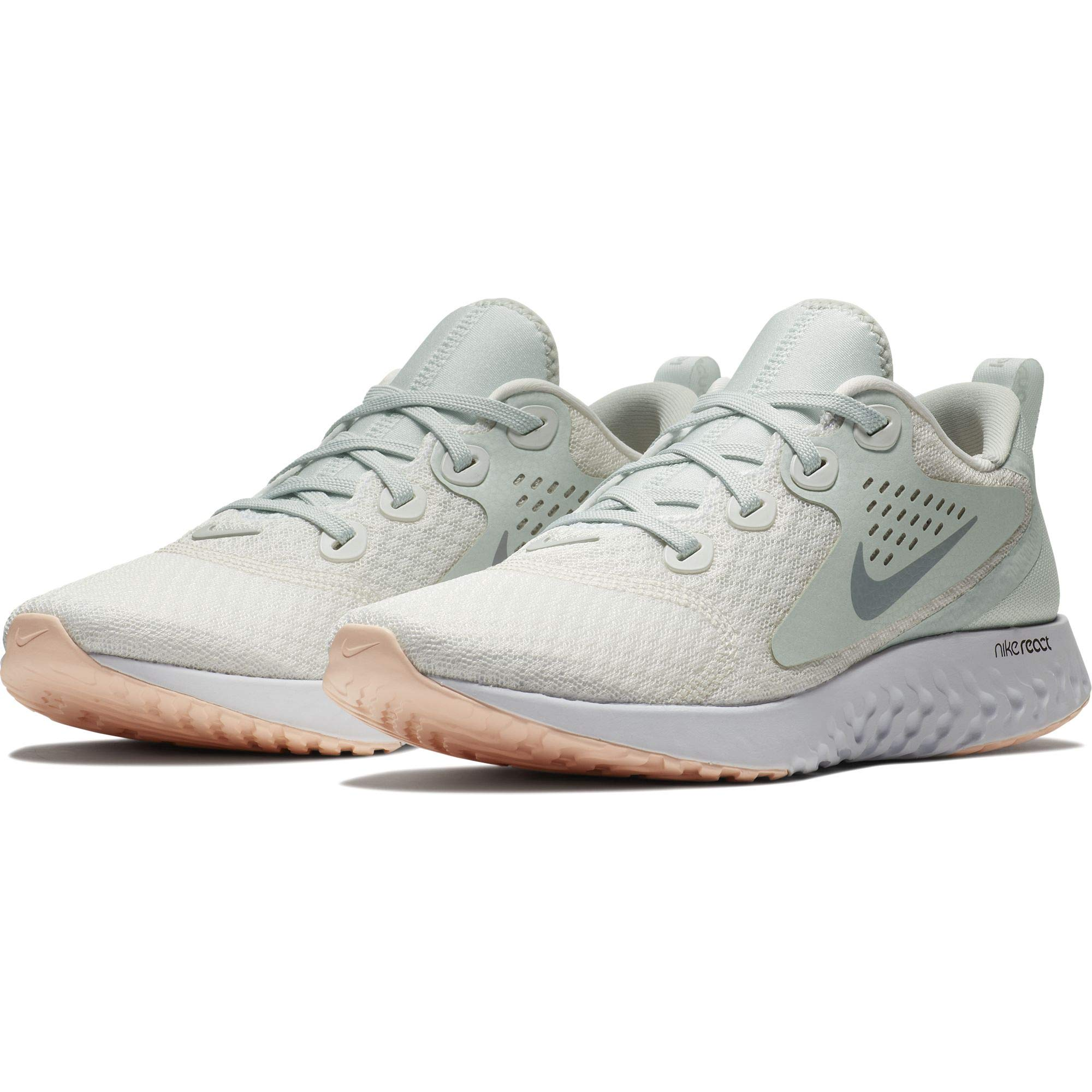 5837916c77a3a Galleon - Nike Women's WMNS Legend React Competition Running Shoes,  Multicolour (Summit White/Wolf Grey/Light Silver 101), 3 UK