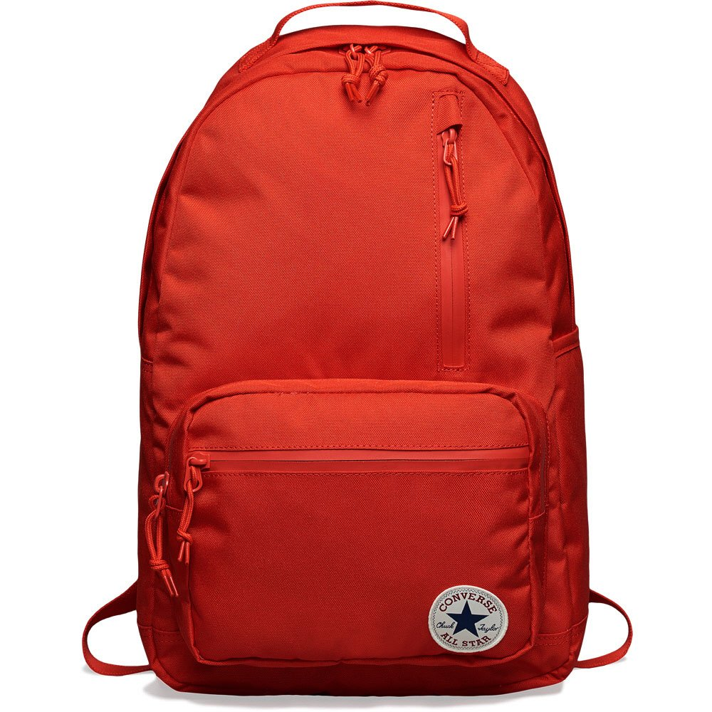 3fcf875ac751c Converse All Star Go Backpack Solid Colors, Red One Size