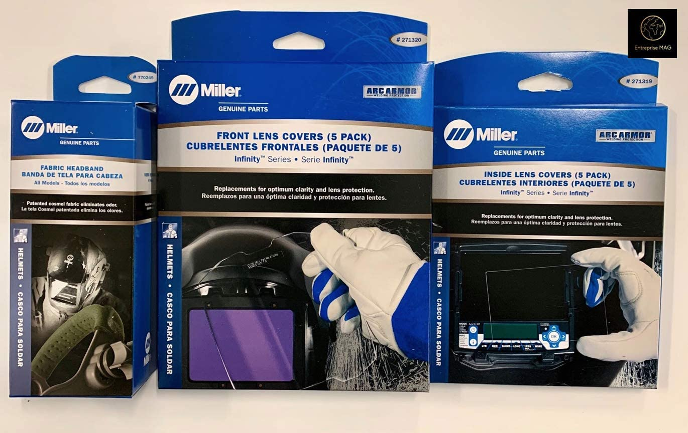 Combo Miller Infinity Series Replacement Lens 271319//271320 and Headband 770249