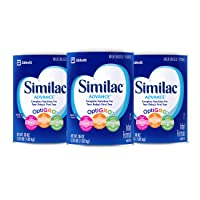 Deals on 3-Pack Similac Advance Infant Formula w/Iron Powder 36Oz.