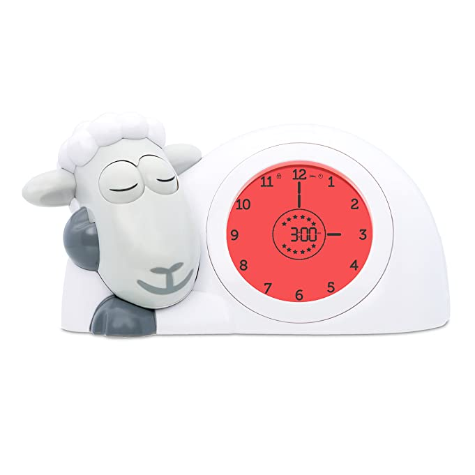 Amazon zazu kids sam sleep trainer alarm clock and nightlight amazon zazu kids sam sleep trainer alarm clock and nightlight new featuresgrey home kitchen stopboris Gallery