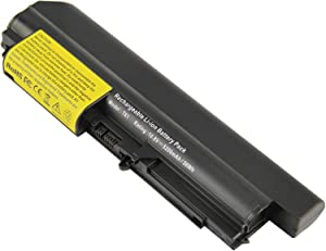 Futurebatt Battery for IBM Lenovo ThinkPad R61 T61 R61i R61e 14-Inch Widescreen - ThinkPad T400 R400 fits 42T4644, 42T4645, 42T4677, 42T4678, 42T4743, 42T4745, 42T4771, 42T5262, 42T5264 Laptop Battery