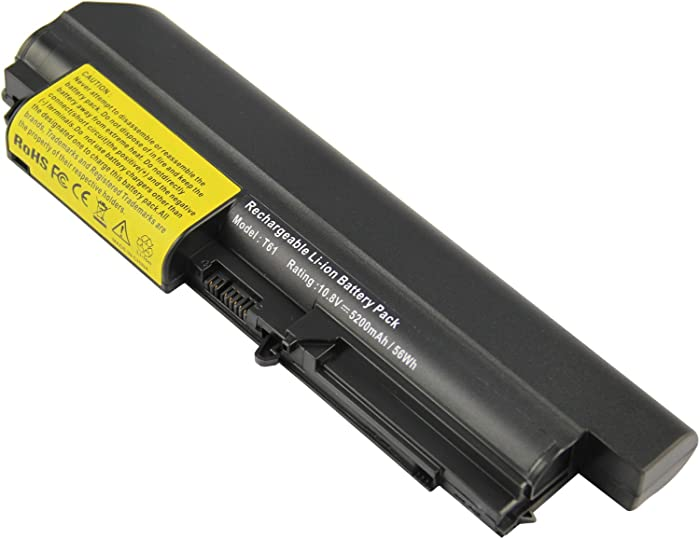 High Performance Battery fit IBM ThinkPad Widescreen R61 R61i T61 T61p T400 R400 Series Laptop 14.1 Inch -Futurebatt