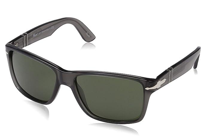 comprare popolare 1577b 2b009 Persol occhiali da sole rettangolari in nero PO3195S 104132 58