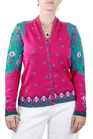 quality design d5763 23a44 IVKO Damen Strickjacke Pink Pink: Amazon.de: Bekleidung