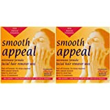 Smooth Appeal Microwavable Peel Off Facial Wax Hair Remover x2