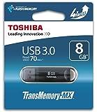 Toshiba TransMemory-MX 8GB 8GB USB 3.0 Negro unidad flash USB - Memoria USB (USB 3.0 (3.1 Gen 1), USB 3.0, Type-A, 0 - 50 °C, -20 - 60 °C, Tapa)