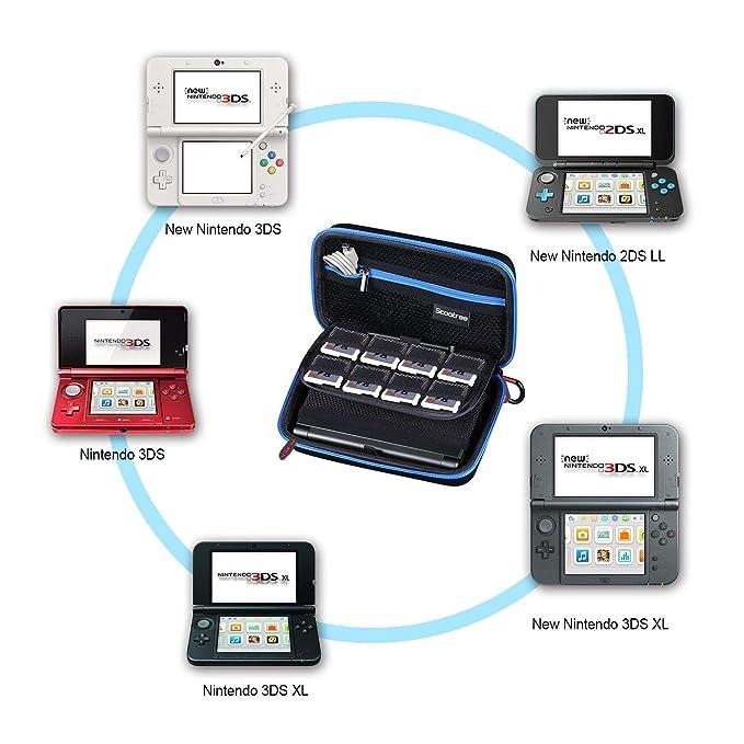 Amazon.com: Scootree - Funda de transporte para Nintendo 3DS ...