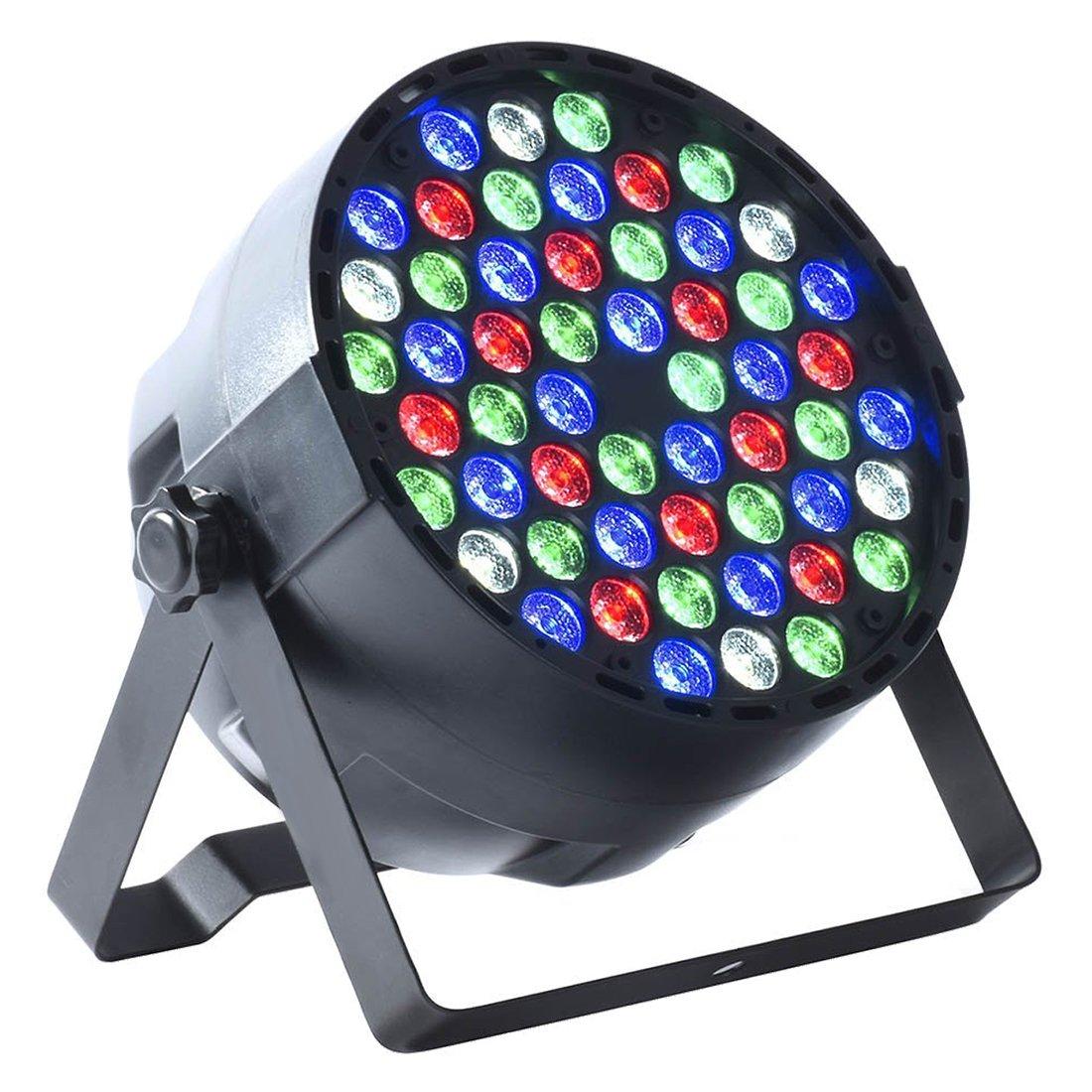 3W stage lights - TOOGOO(R) 4pcs 54X3W LED DJ PAR Light RGBW 162Watt DMX 512 Stage Lighting Disco Projector