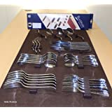 Silverware Drawer Lining Kit in Brown - Holds 70 Pieces