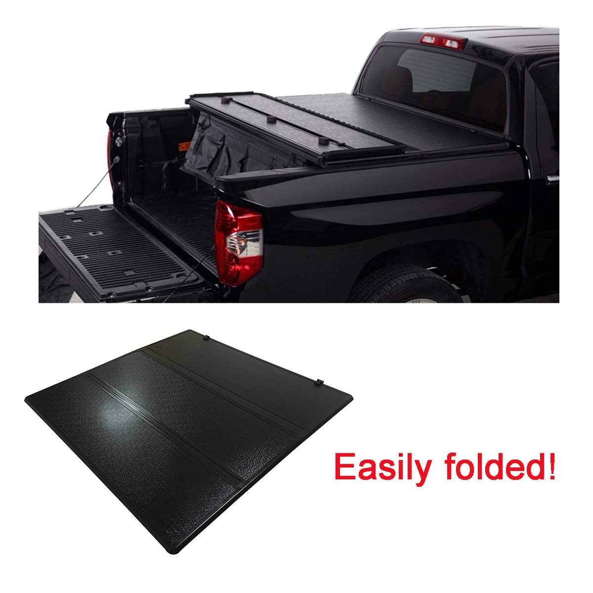 FUYU Hard Tonneau Cover for Ford F-150 1997-2003/2004 Heritage ...
