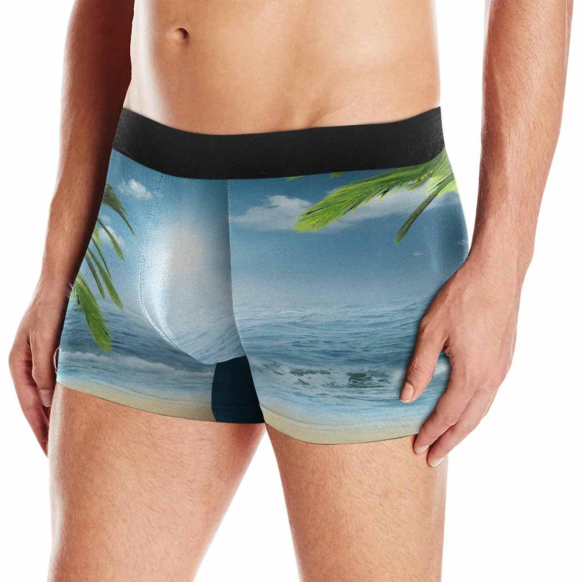 XS-3XL Abstracts Design INTERESTPRINT Mens Boxer Briefs Underwear On The Ocean