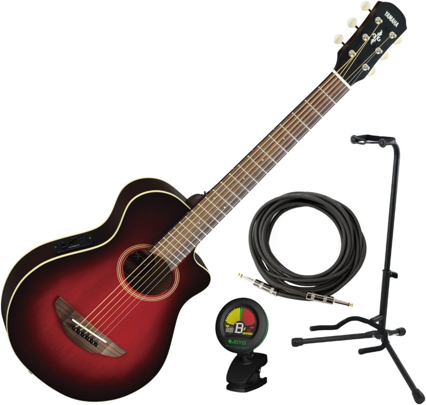 Yamaha APXT2 Guitarra eléctrica DRB 3/4 acústica escala rojo ...