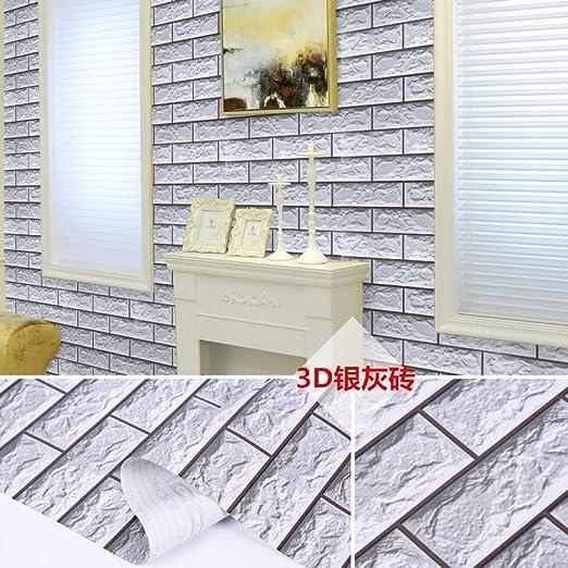 Ladrillo Impermeable Autoadhesivo Papel Tapiz Adhesivo Imitacion