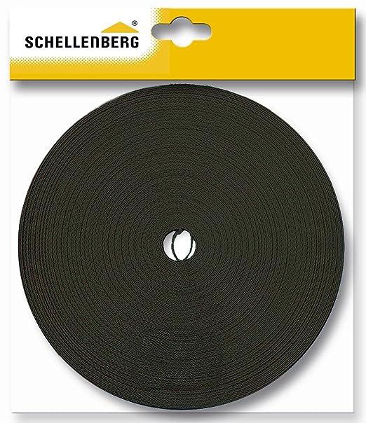 5 opinioni per Schellenberg 81204- Cinghia per tapparelle, 18 mm / 12,0 m, colore: Marrone