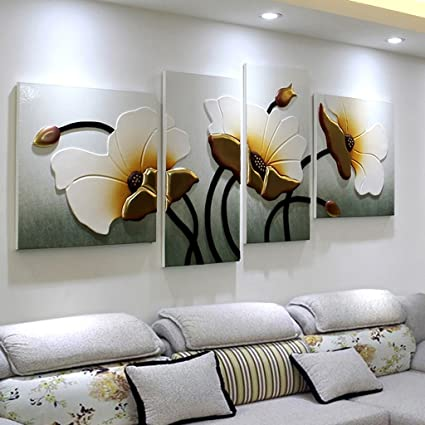 Amazon.com: Murals Wall paintings living room sofa backdrop ...