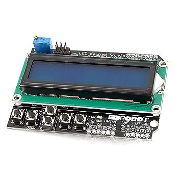 sourcing map LCD1602 de Teclado Pantalla Dot Matrix módulo de Pantalla LCD para MCU: Amazon.es: Electrónica