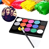 Glitter Tattoo Kit,DANCINGNAIL Temporary Glitter Tattoo Make Up Body Glitter Body Art Design For kids Teenager Adult,with 24 Colors of Glitters,108 Sheet Uniquely Themed Tattoo Stencil