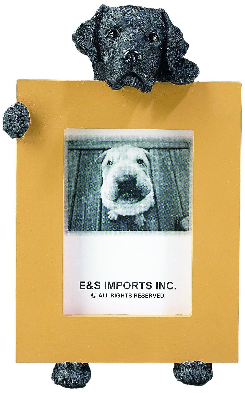 Black Labrador Retriever 2.5'' x 3.5'' Dog Photo Frame