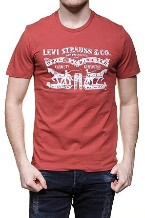 31b6d3980bd727 Levi s Bekleidung Rot Herren Large T Shirt gPqPRwfY