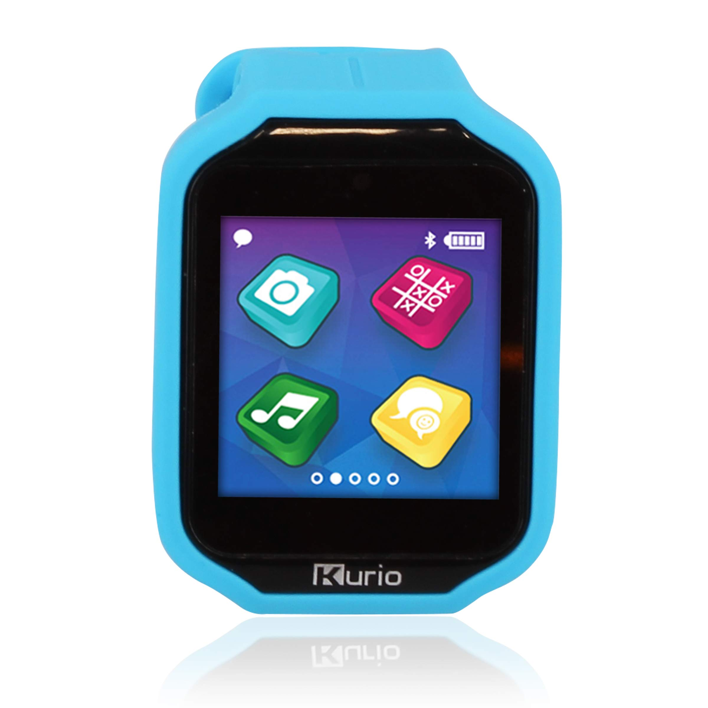 Kurio Watch 2.0+ The Ultimate Smartwatch Built for Kids with 2 Bands, Blue and Color Change by KD Interactive (Image #1)
