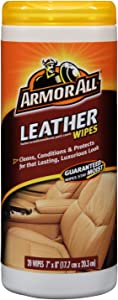 Armor All 10927/10881 Leather Wipes 20 Count 3 Pack