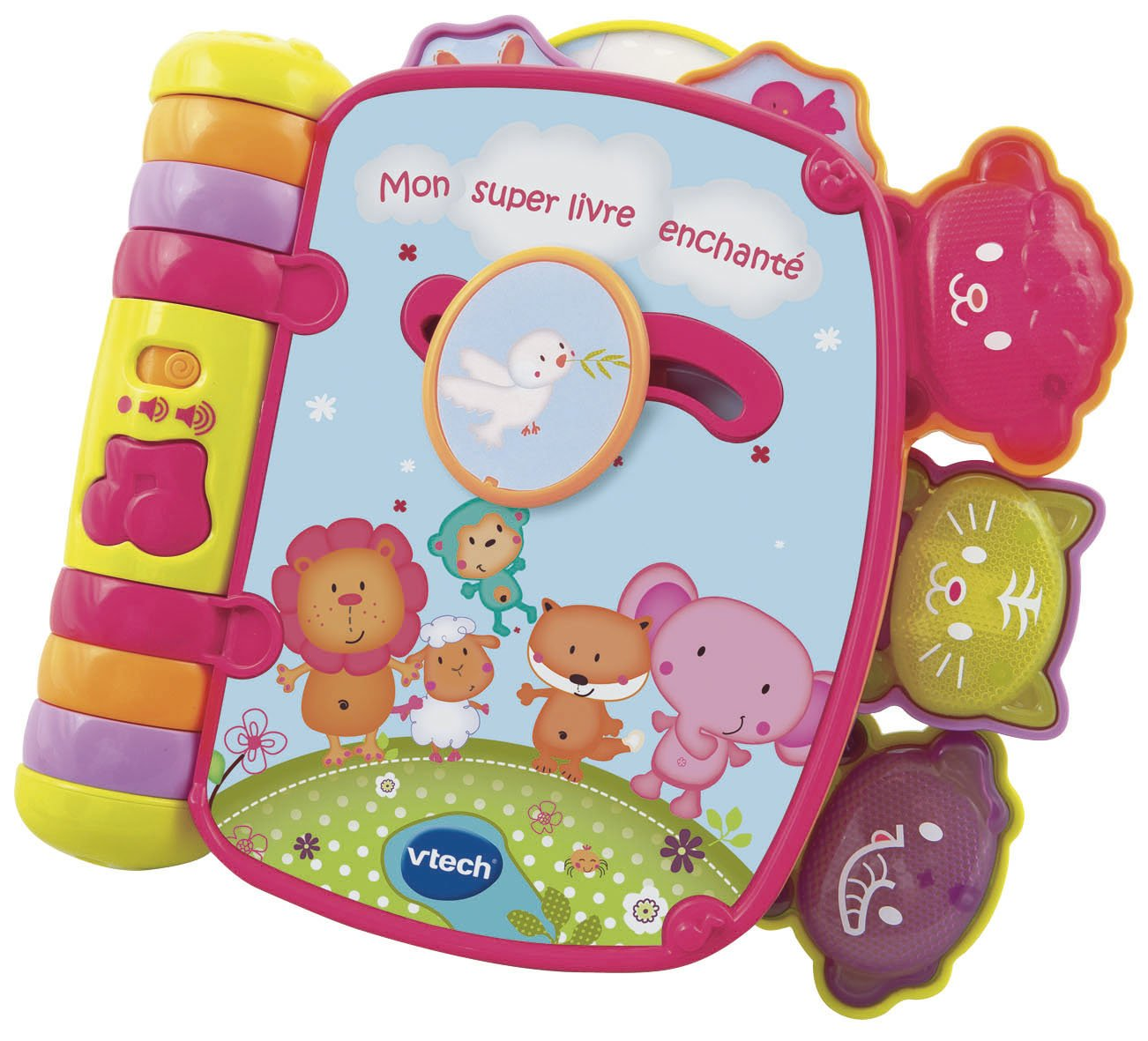 Vtech Nouveau Super Livre Enchante Rose Amazon Co Uk Baby