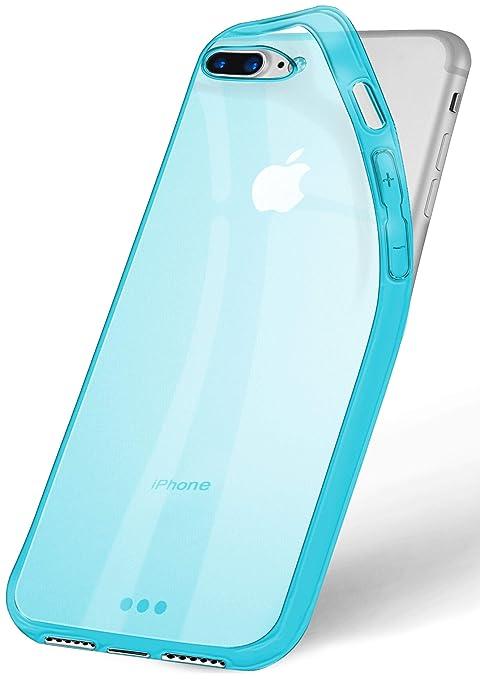 OneFlow Frosted Case para iPhone 7 Plus | Funda Silicona Consta de TPU | Accesorios Cubierta protección móvil | Carcasa móvil paragolpes Bolso ...
