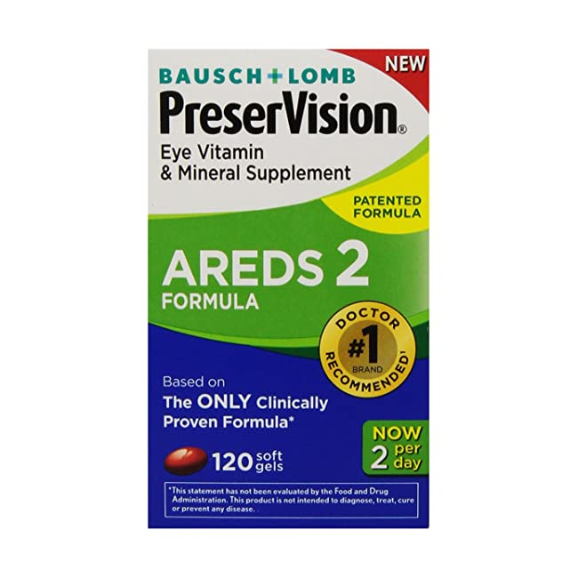 PreserVision AREDS 2 Eye Vitamin & Mineral Sup...
