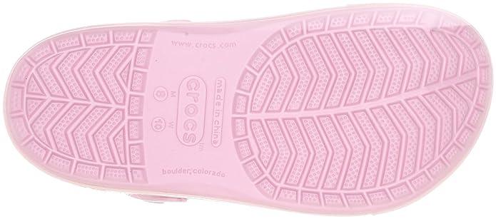 crocs Crocband II.5 Winter Clog 12838-6B7-192 - Zuecos unisex, color rosa, talla 41/42