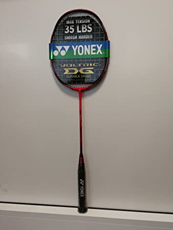 Yonex Voltric 20DG Stretched Max Tension 35lbs Smash Harder  Amazon ... e2647d7fc56d6