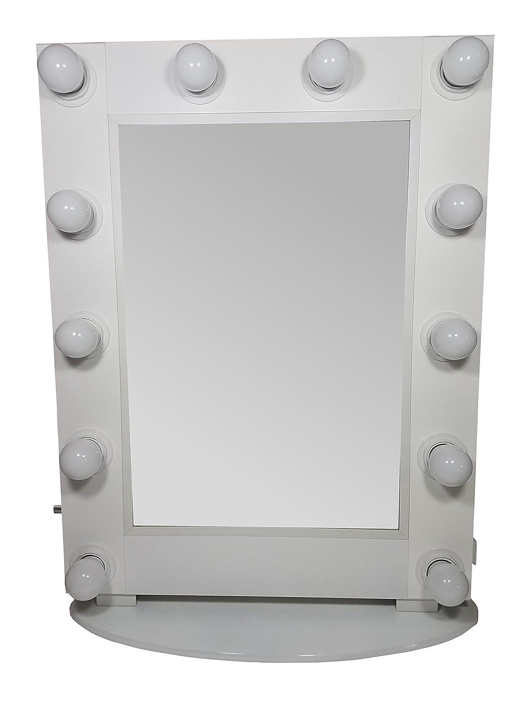 Hollywood Vanity Mirror by Lighted Vanity Mirror
