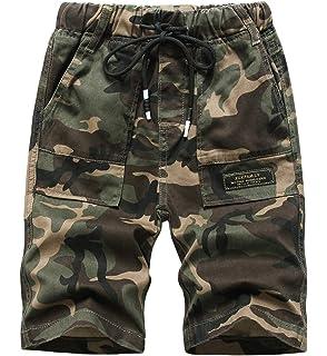 Laus Pantalones Cortos de Camuflaje para niño - Pantalón Corto Militar para Verano (5-14años): Amazon.es: Ropa y accesorios