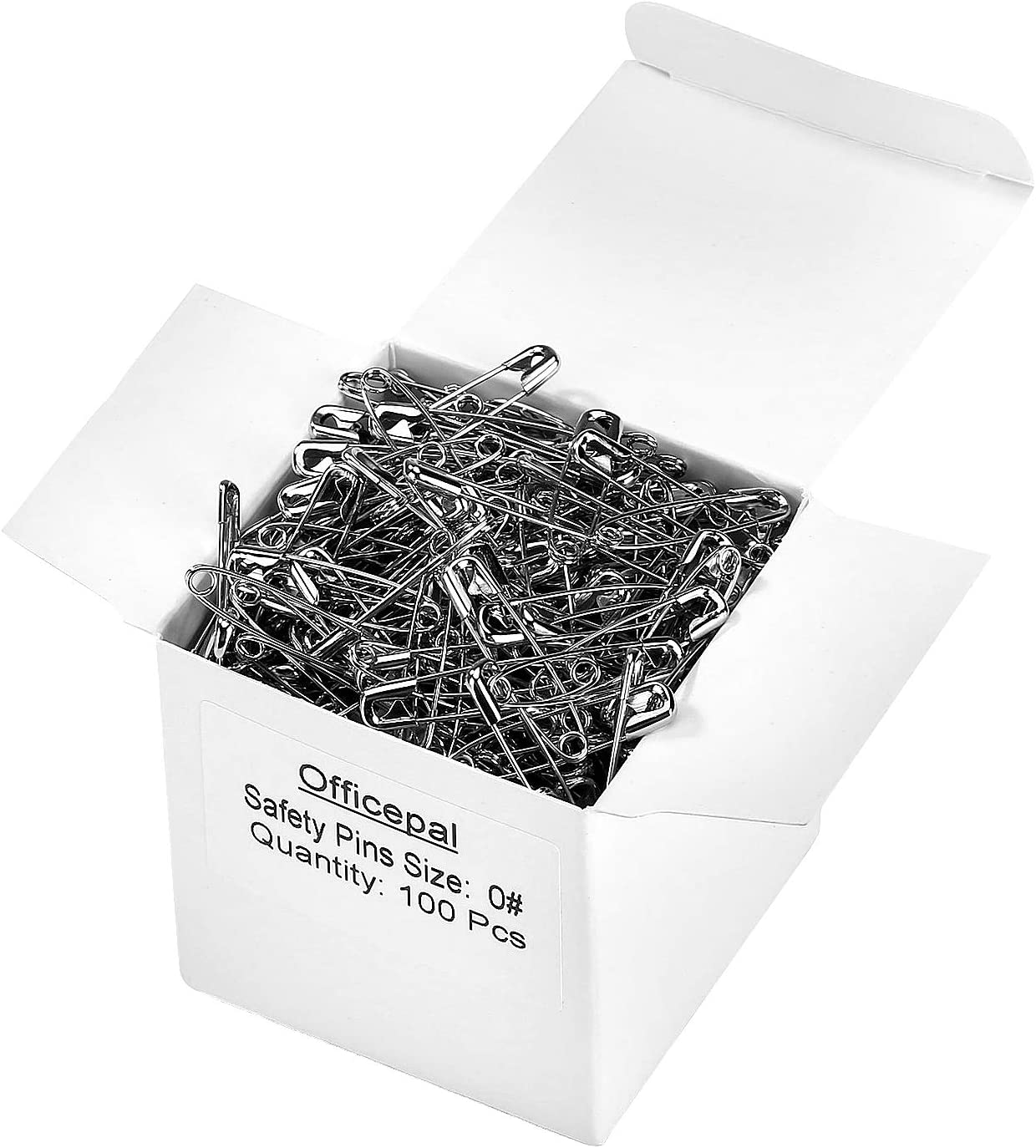 27mm 45mm Safety Pins PREMIUM Quality Steel Strong Industry Standard Craft Aid
