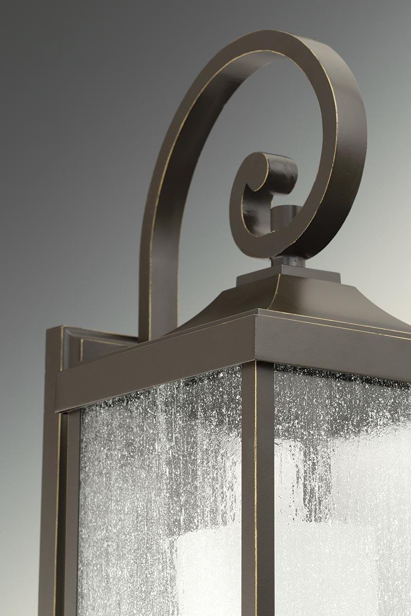 Antique Bronze Progress Lighting P560019-020 Devereux One-Light Medium Wall Lantern
