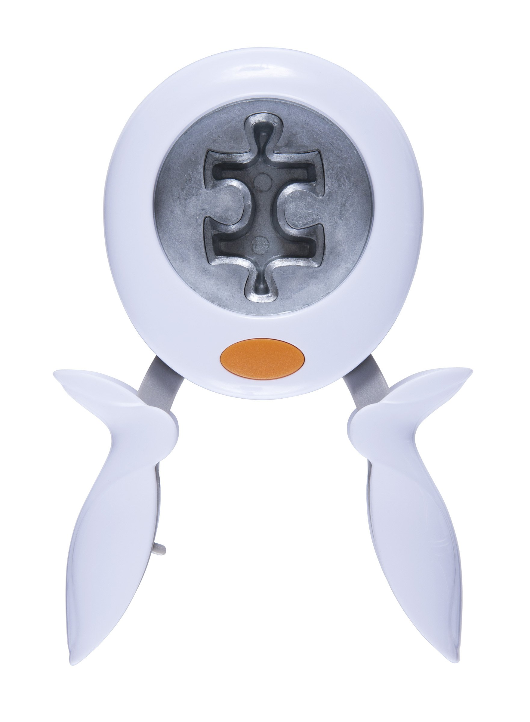 Fiskars Squeeze Punch, Puzzled, Extra-Large (100110-1001)