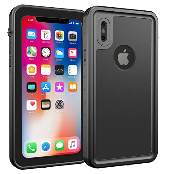 promo code ded24 e5cca iPhone X/XS Waterproof Case, iThrough Protective Case for iPhone Xs 5.8