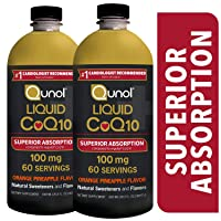 Qunol Liquid CoQ10 100mg, Superior Absorption Natural Supplement Form of Coenzyme...